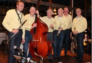 Dixieland en swing klinkt zondag 8 december in De Kruisberg