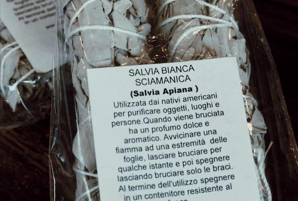 Salvia bianca sciamanica.
