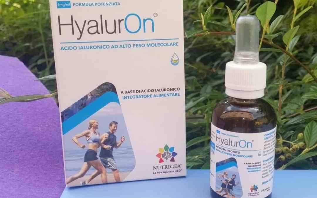 HyalurOn acido Ialuronico 100% naturale ad alto peso molecolare