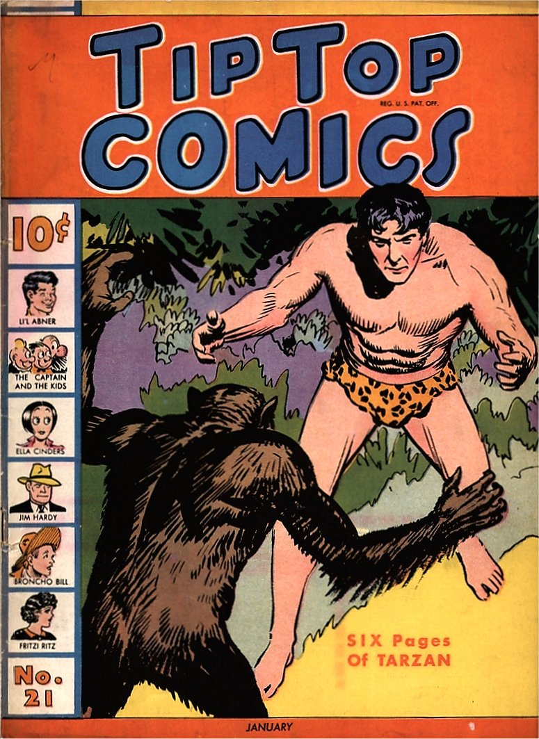 Early Years Tarzan Comics I