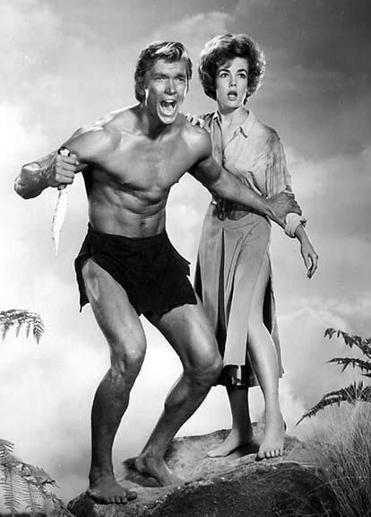 ERBzine 1959 Tarzan the Ape Man  Denny Miller film