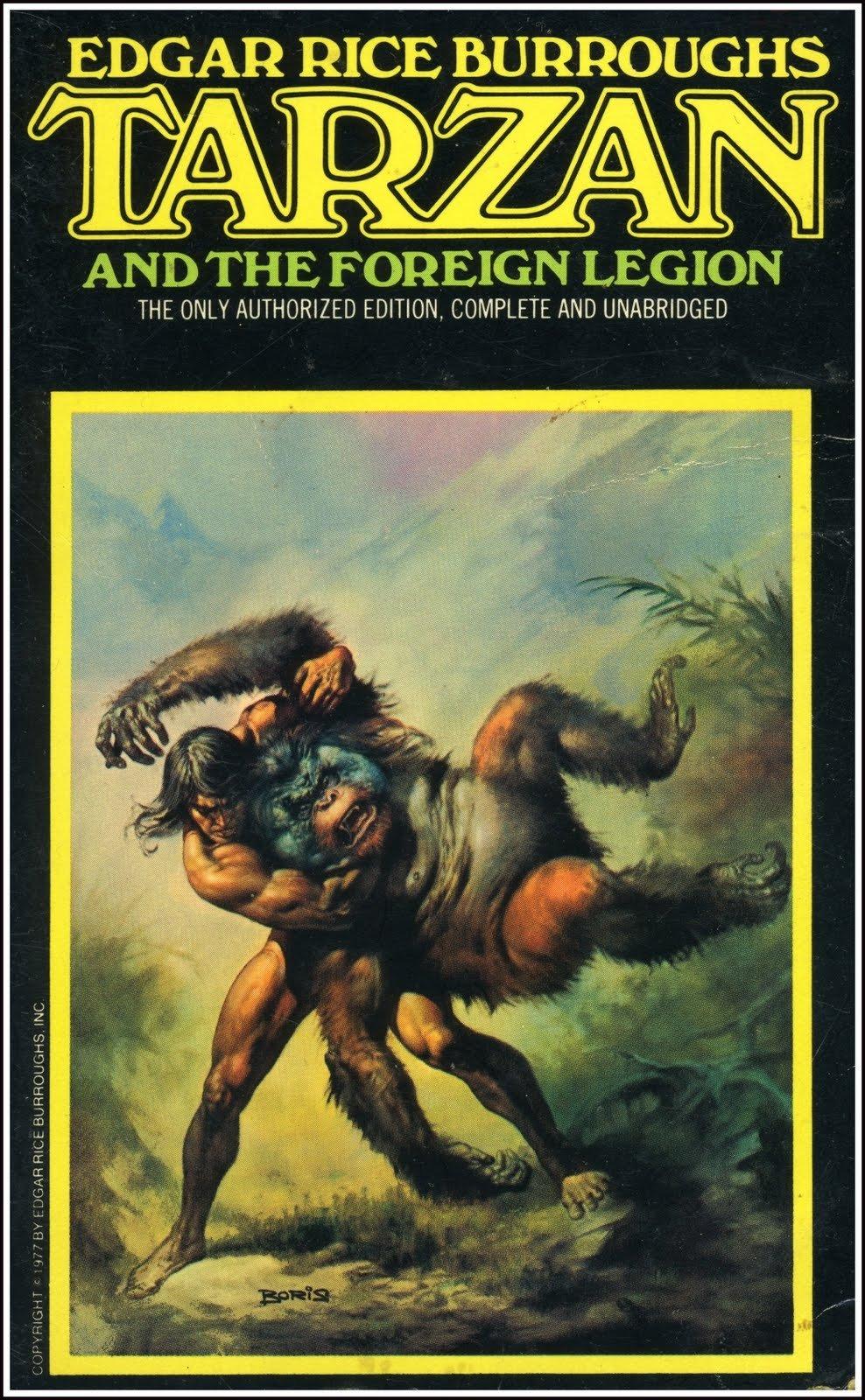 ERBzine 3610 Tarzan Ballantines  Adams and Boris