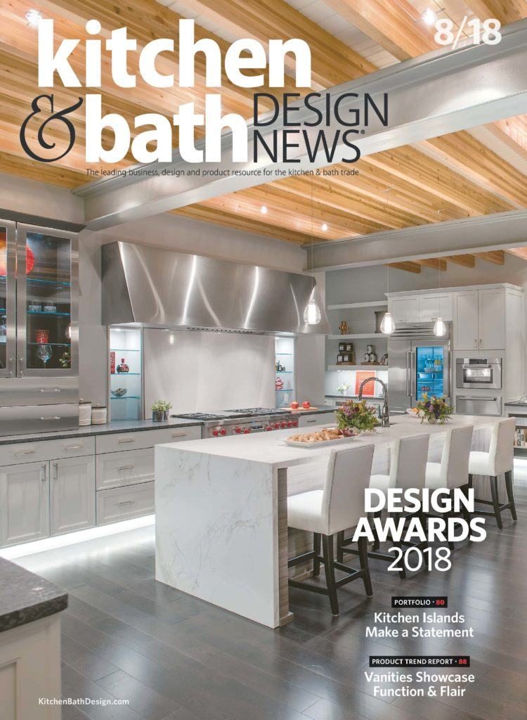 kitchen magazine faucet filter system hunter bath design on cover of industry s top