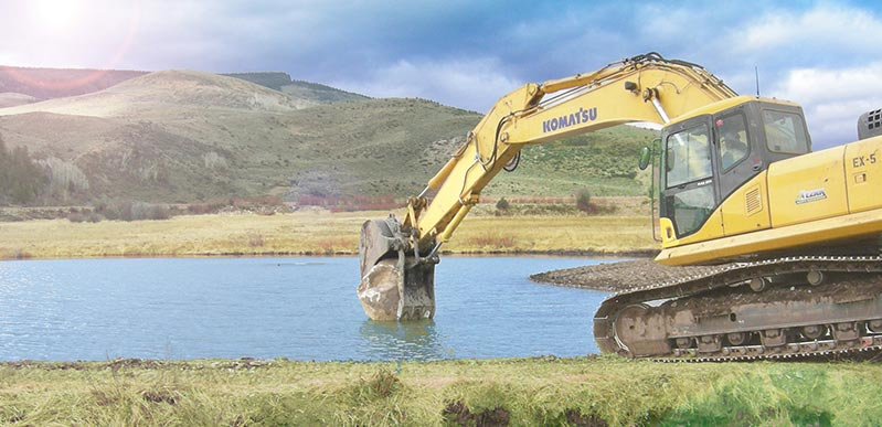 Waterfowl Pond Construction