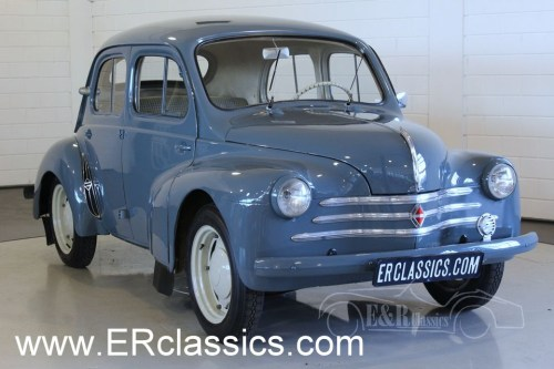 small resolution of renault 4 cv saloon 1956 view all photos