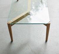 Chesham glass & oak coffee table - Coffee & Lamp Tables ...