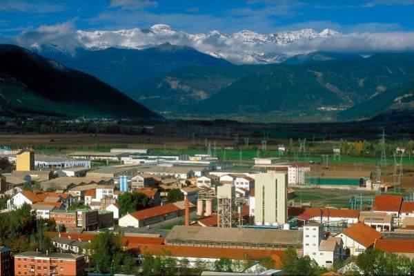 ERCROS SABIÑÁNIGO. Imagen de las instalaciones en Sabiñánigo. (FOTO: ERCROS)