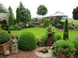 Gartensparziergang