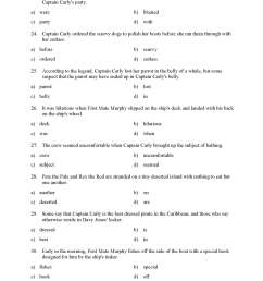 Action Verbs and Verbs of Being Test 1   Reading Level 3   Preview [ 2200 x 1700 Pixel ]