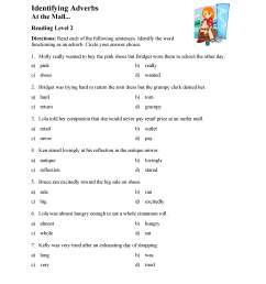 Find Adverb Worksheet   Printable Worksheets and Activities for Teachers [ 3597 x 2780 Pixel ]