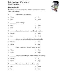 Interjections Worksheet 5th Grade - Promotiontablecovers [ 3597 x 2780 Pixel ]