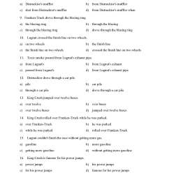 Prepositional Phrase Worksheets Grade 4   Printable Worksheets and  Activities for Teachers [ 2200 x 1700 Pixel ]
