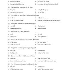 Prepositional Phrases Worksheet 1 - Reading Level 1   Preview [ 2200 x 1700 Pixel ]
