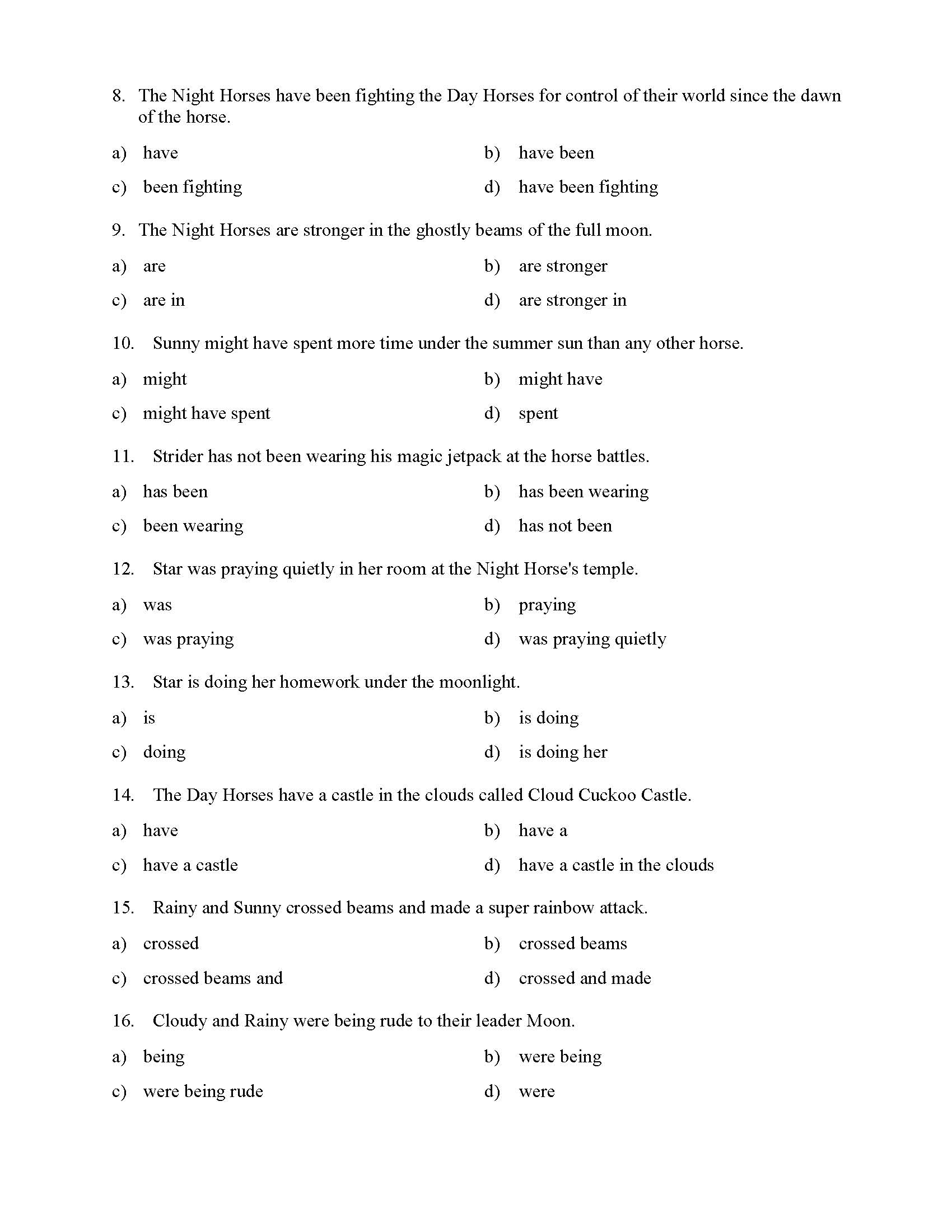 What Is A Helping Verb Phrase