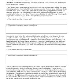 Making Predictions Worksheets and Lessons   Ereading Worksheets [ 2200 x 1700 Pixel ]