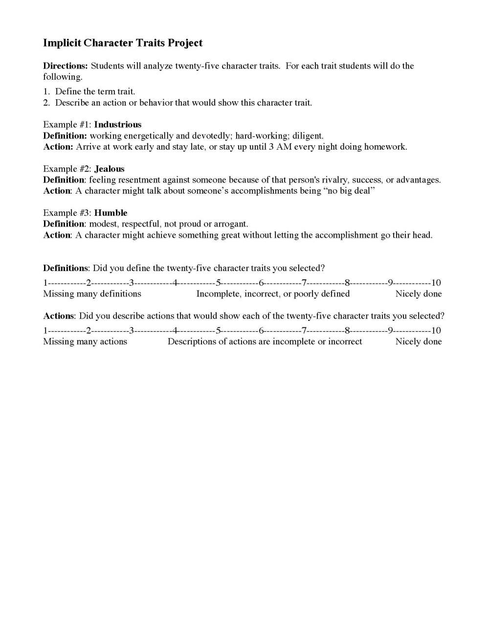 medium resolution of Characterization Worksheets   Ereading Worksheets