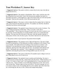 Tone Worksheet 5 | Answers