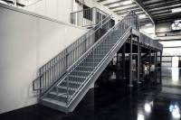 Commercial Staircase in manufacturing plant - ErectaStep