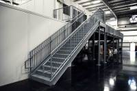 Prefabricated Metal Stairs, Aluminum Steps & Work ...