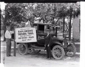 Explorers on Tamiami Trail 1923