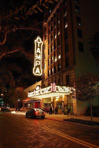 Tampa Theatre by Gordon Tarpley