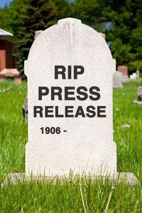 Mort, le communiqué de presse?