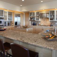 Remodeled Kitchen White Buffet Here Are The Top 9 Remodeling Considerations Eren Design 1 Start With A Triangle To Maximize Functionality