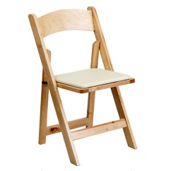 Wooden Folding Chairs For Rent Chair Design Reception Wood Padded Natural Erentals Events Event Party 1715 3 00