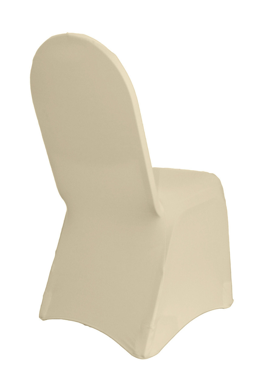 custom banquet chair covers home depot office chairs spandex cover erentals events event party rental ivory black white