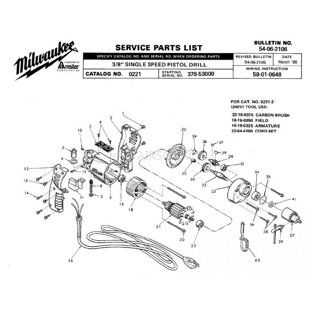 medium resolution of milwaukee drill switch wiring diagram