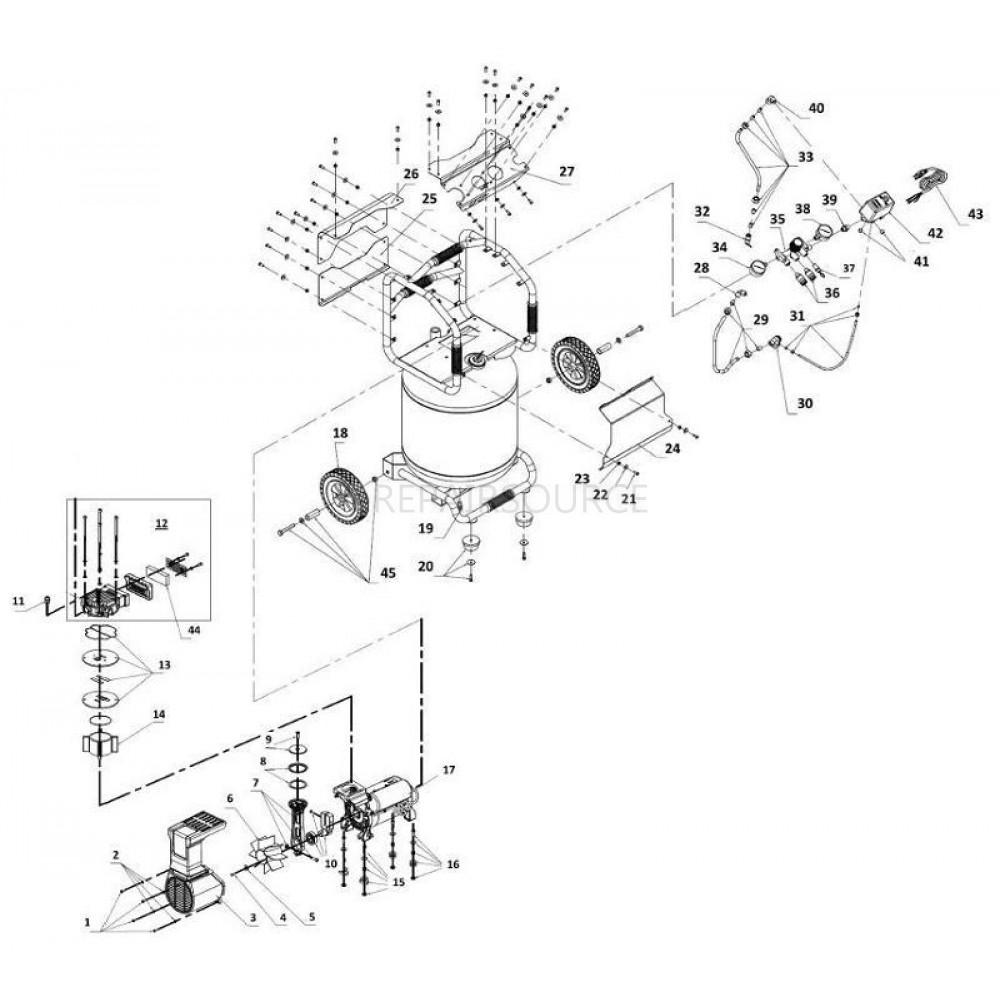 Wiring Diagram Ingersoll Rand 2475n7 5 Ingersoll Rand
