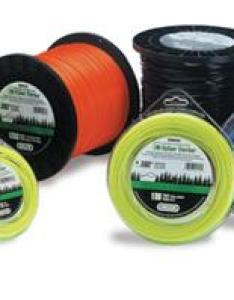 Naturally as the thickness and toughness of yard or garden material being cut increases  heavier sharper stlye trimmer line is needed also buying guide ereplacementparts rh
