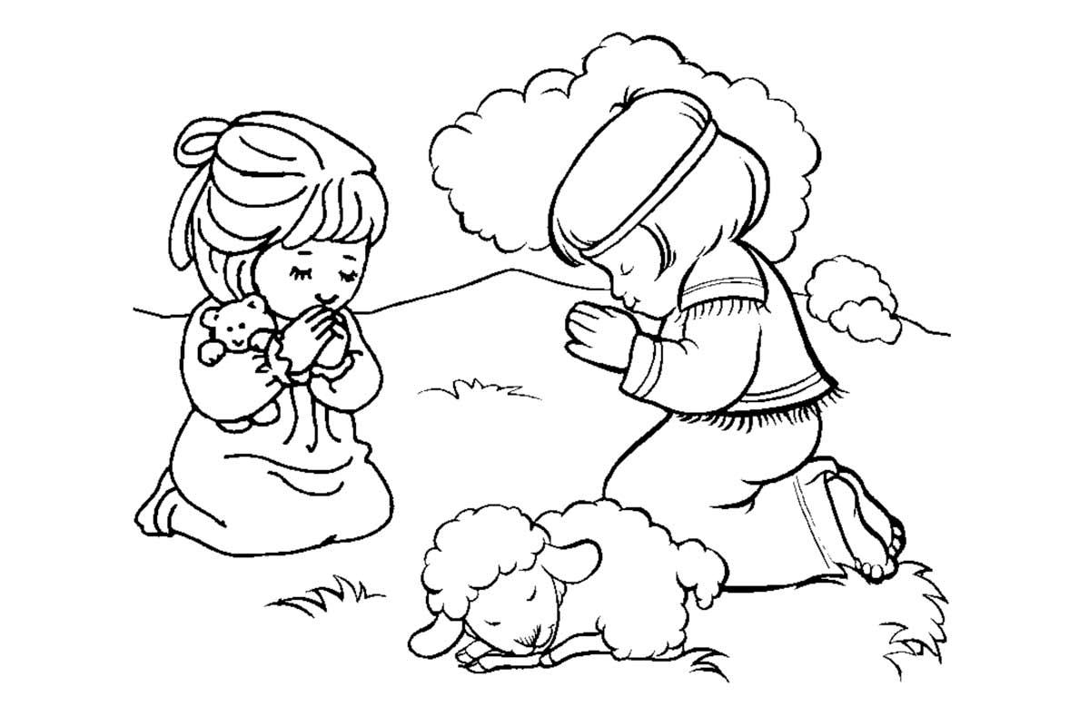 Gran Colección de Dibujos Cristianos Para Imprimir y