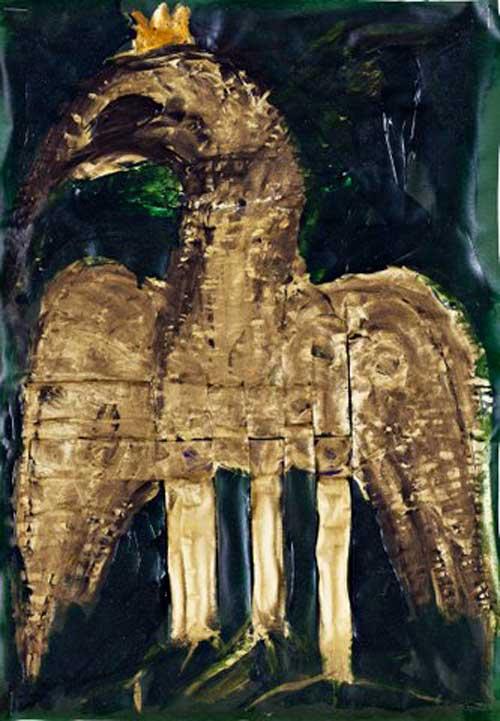 """חן שיש - מתוך """"במרחק השחור"""" במוזיאון אשדוד"""