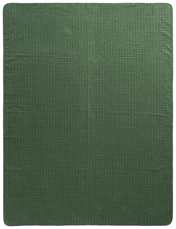Плед Biederlack Atomic Pattern Green