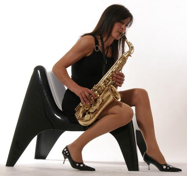 Saxofonistin  Lounge Sax fr Events