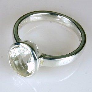 RA229 Bergkristall 8x10 mm