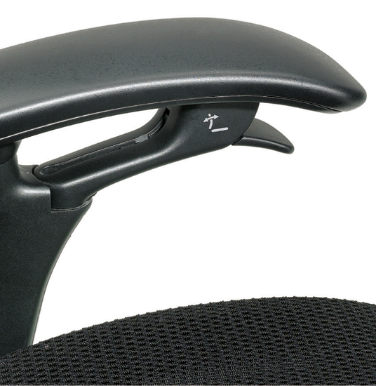 office chair adjustment levers eames molded plywood teknion contessa review   ergo247.com - ergonomic task and furniture reviews
