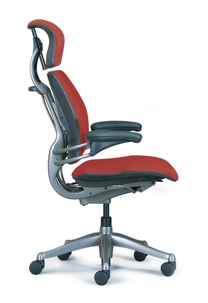 office chair adjustment levers kitchen steel humanscale freedom review   ergo247.com - ergonomic task and furniture reviews