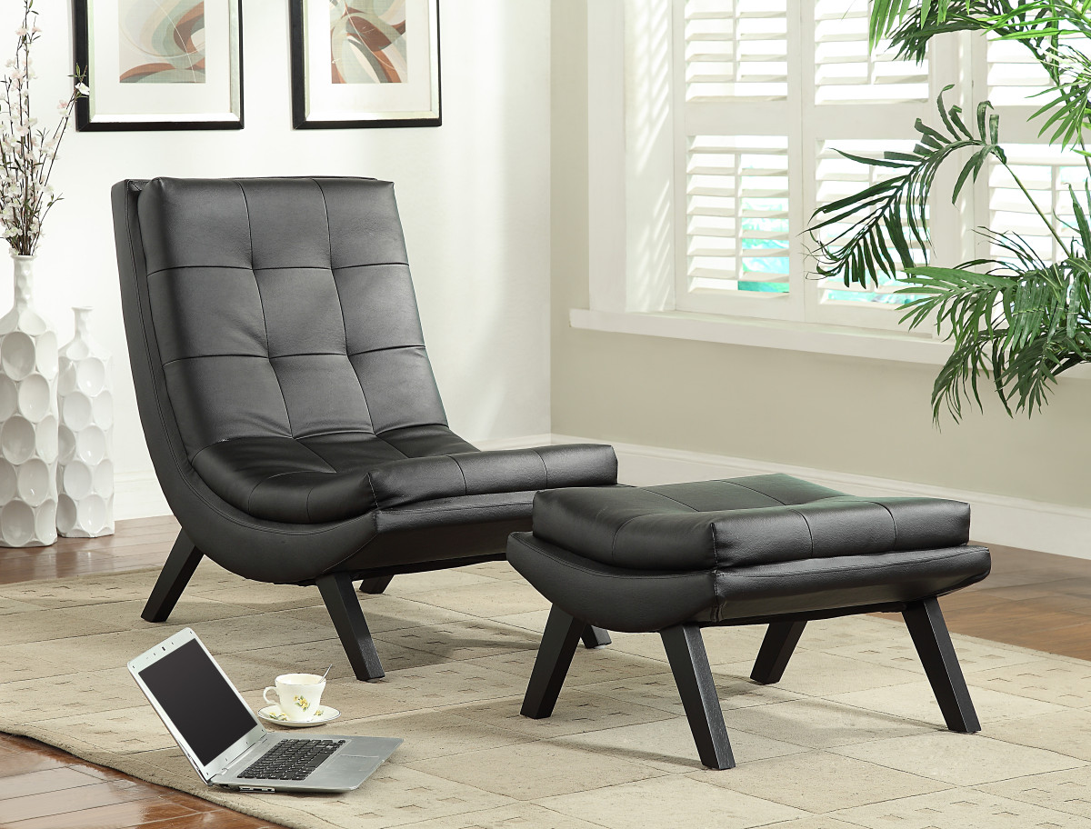 black leather club chair and ottoman sofa set tustin lounge with fuax