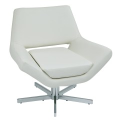 Modern White Leather Club Chair Pink Kids Quotyield 31 Quot Faux Lounge With