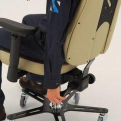 Posture Alignment Chair Swing Drawing Synetik Synergo Ii Industrial Welding Grade Ergonomic - Ergoback.com