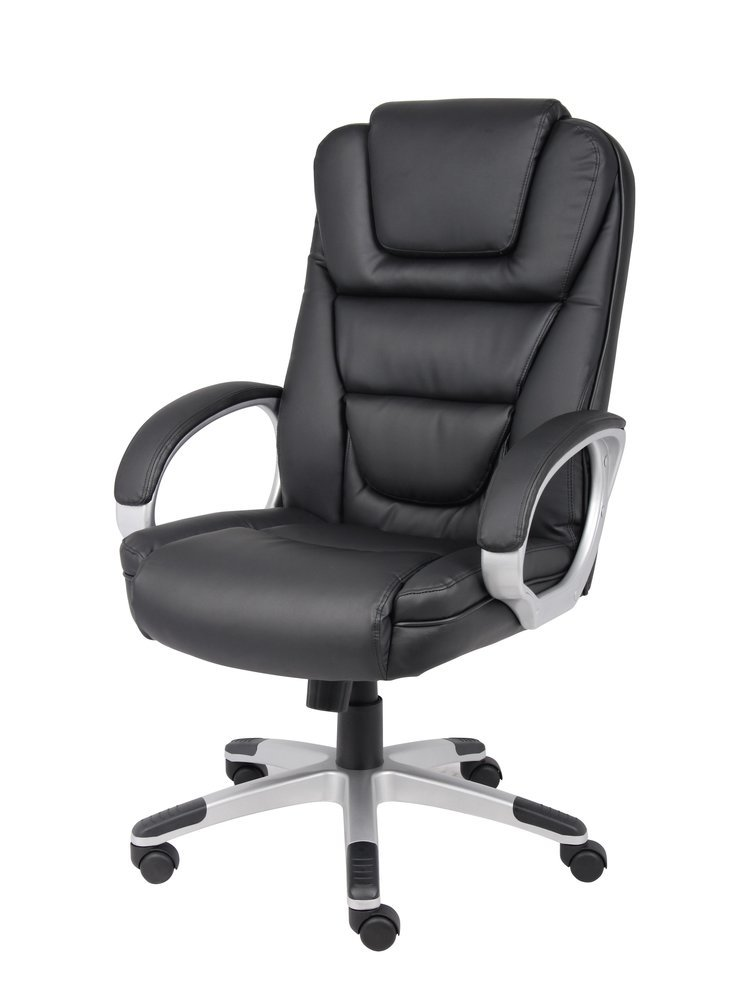 boss ntr executive leatherplus chair hanging with stand price