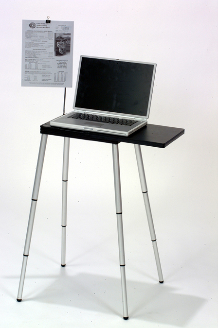 TableTote Portable Workstation  Detailed Specification Sheet