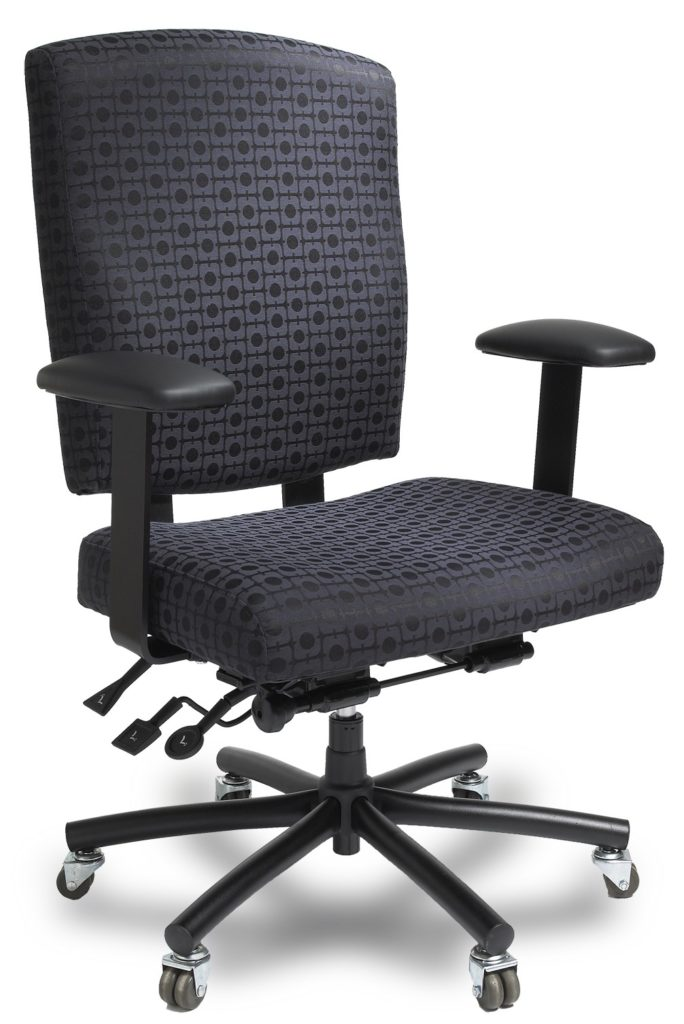 ergo chairs for office pier one accent canada bariatric task chair - ergocentric