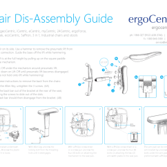 Hag Capisco Chair Instructions Dining Room Covers Task Disassembly Ergocentric