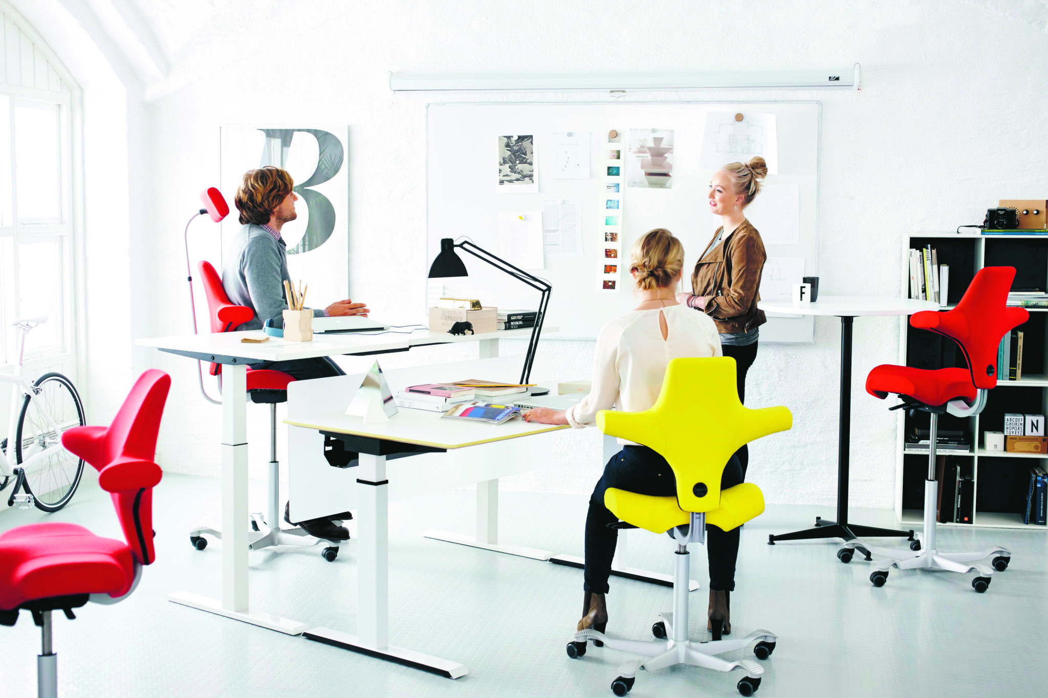 hag posture chair office lean back hÅg capisco ergocentric