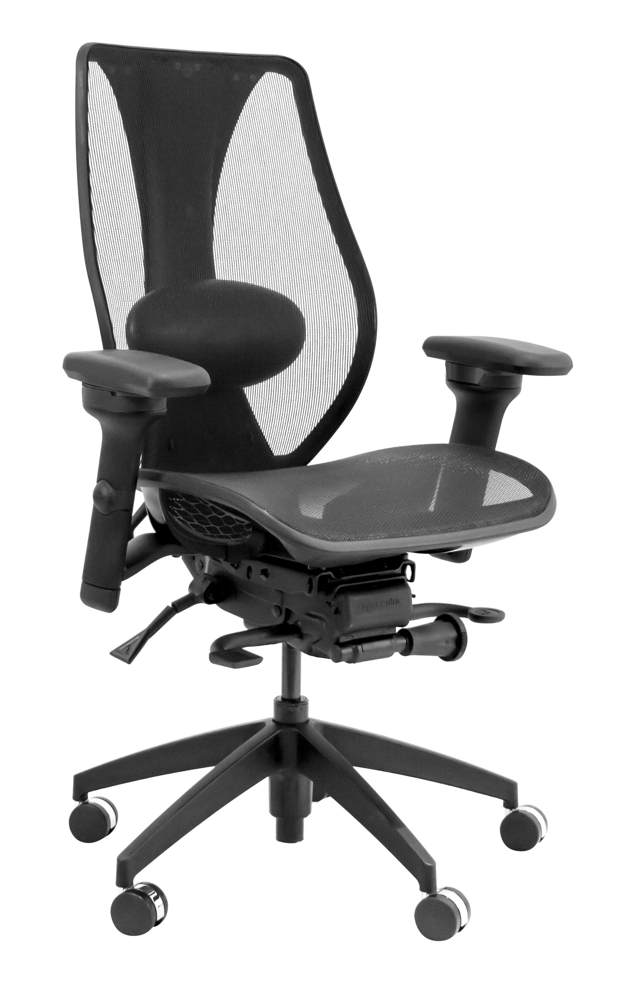 ergonomic chair attachment swivel tcentric hybrid ergocentric