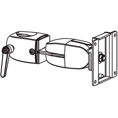 Ergotron 47-051-200 DS100 Clamping Double Pivot