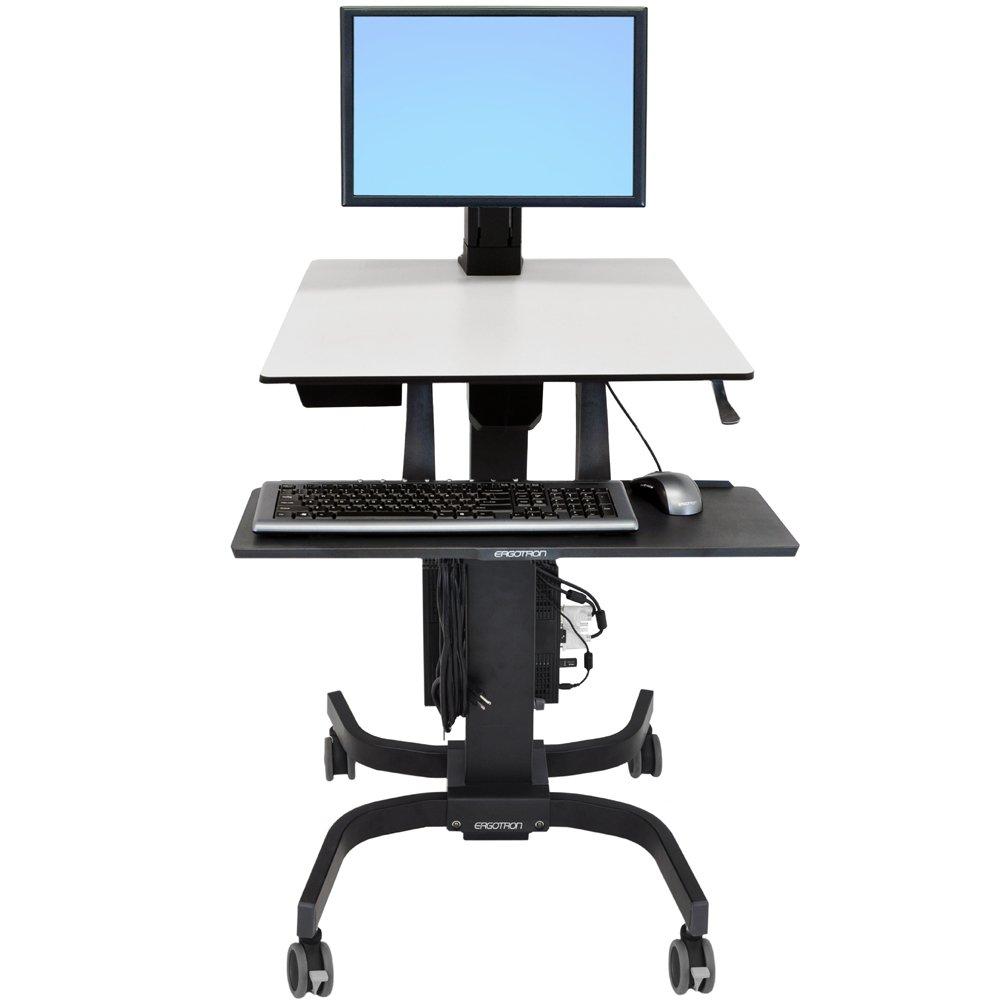 SitStand Cart Ergotron 24215085 WorkFitC Single LD